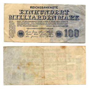 German Milliarden Mark